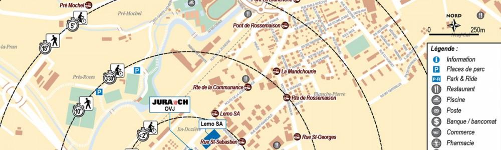 Plan La Communance_Delémont