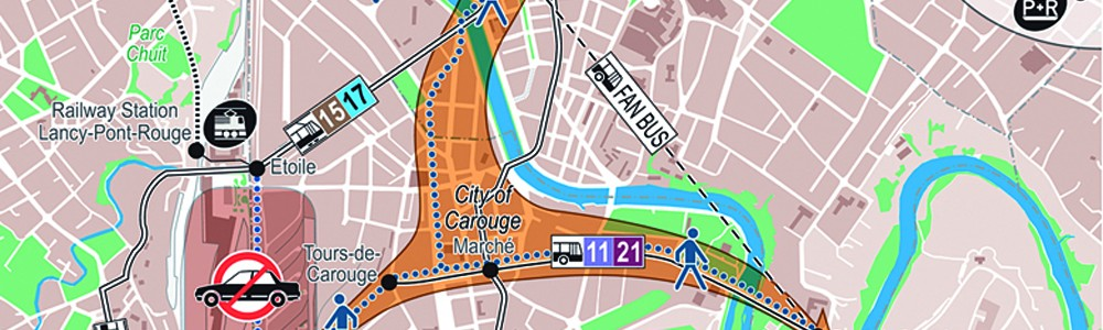 Euro 2008 Geneva City Plan